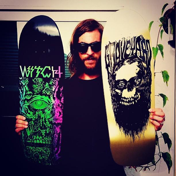 Graveyard Skateboard